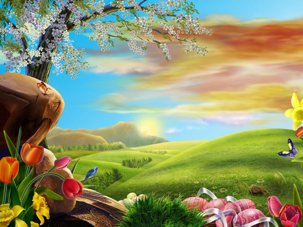 Easter-scene-wallpaper