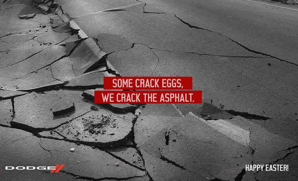 Рекламата на DODGE за Великден