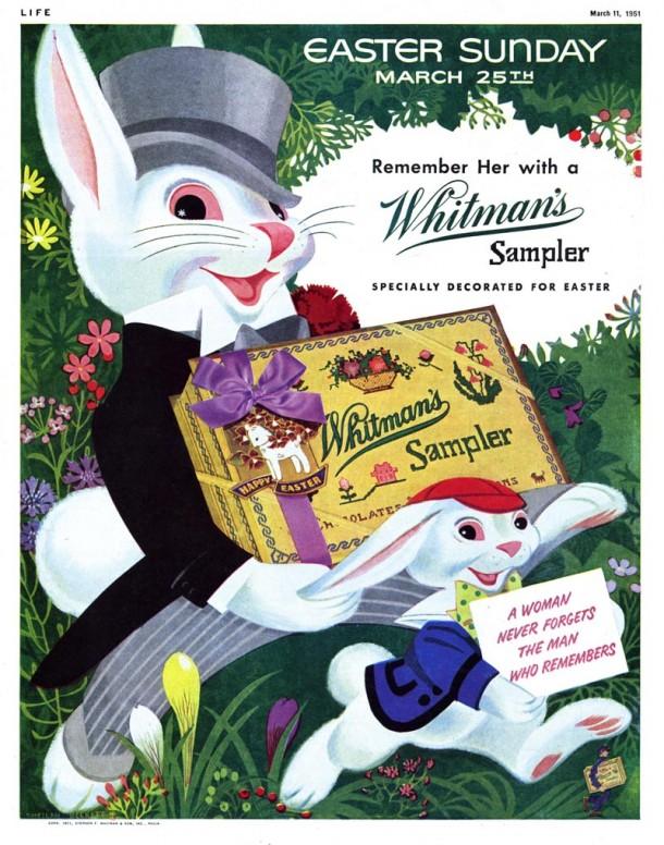 Стара великденска реклама на Whitman's