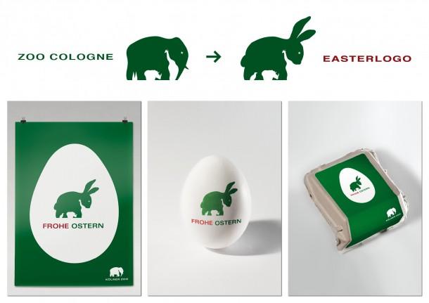 Страхотна трансформация на логото от Kölner Zoo