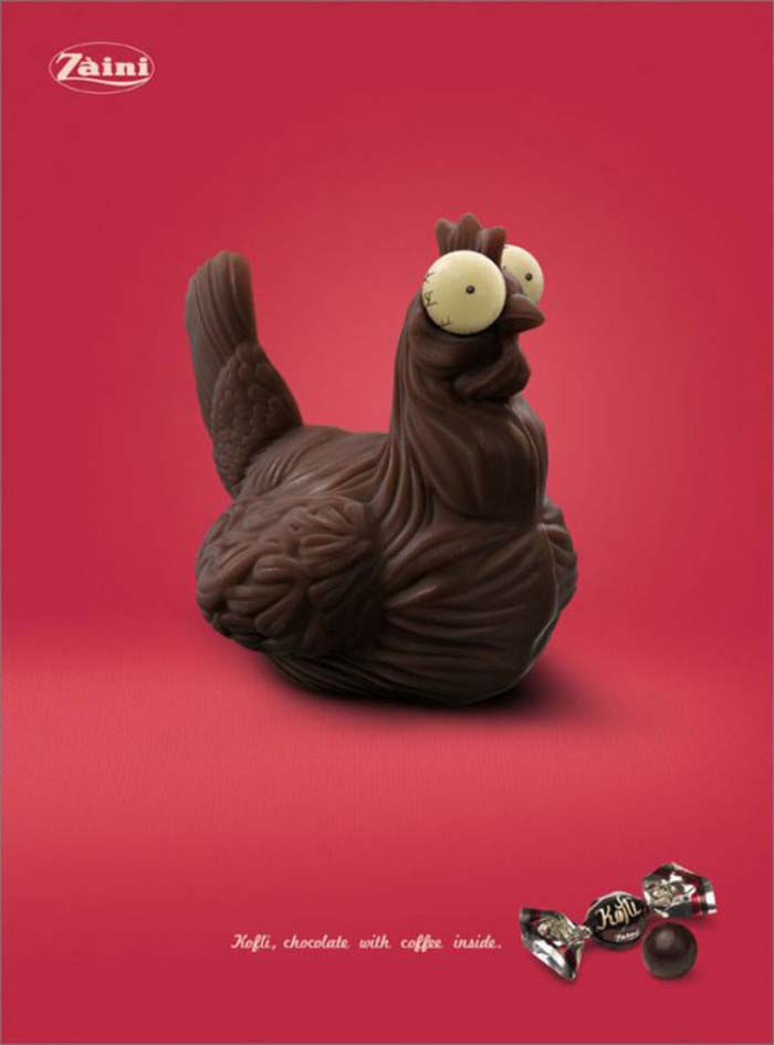 Zaimi с шоколадова кокошка