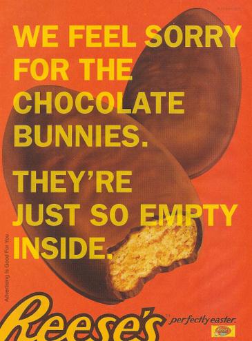 Reese's не продават въздух в шоколад