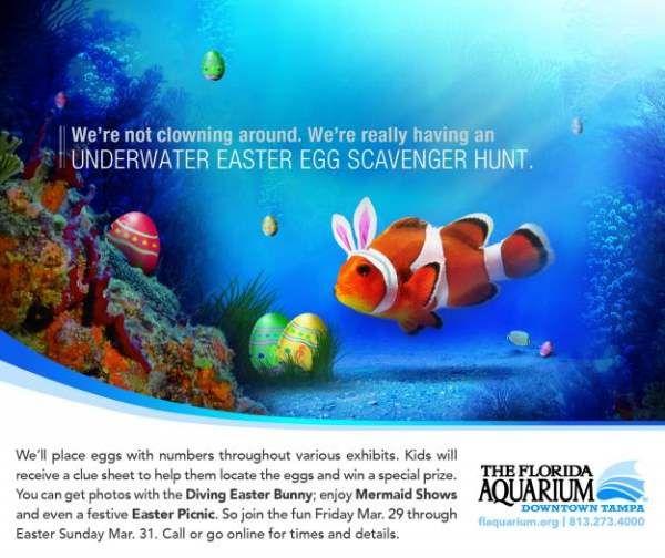 Реклама на Аквариумът на Флорида