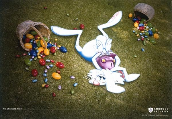 Ambrose security - пази яйцата