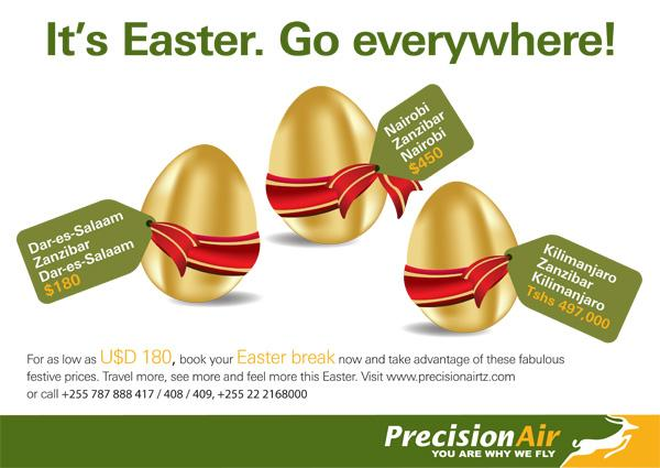Рекламата на Precision Air