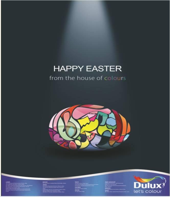 Честит и цветен Великден с Dulux
