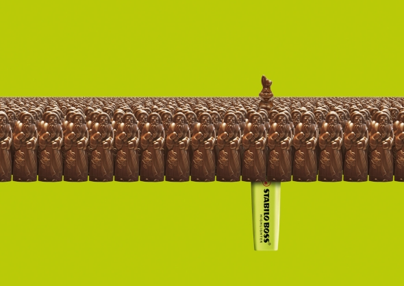 Шоколадов Великден със Stabilo boss
