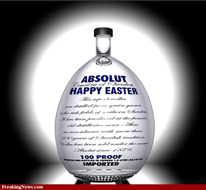 Великденска водка Absolut