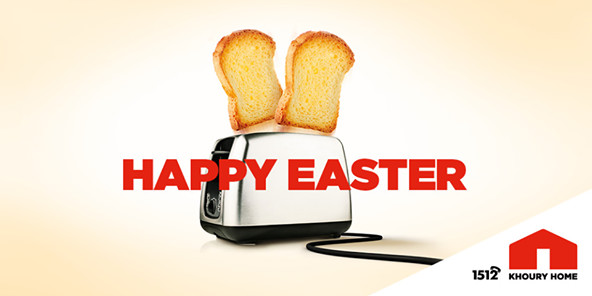 Честит Великден и от Knoury home