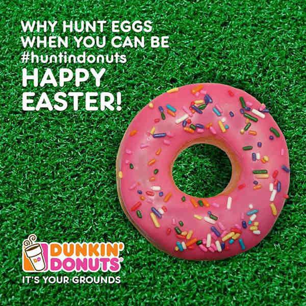 Dunkin' Donuts предлагат понички вместо яйца