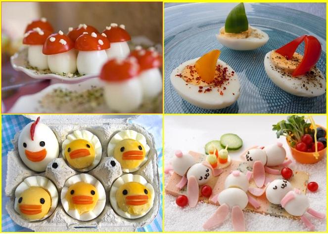 Рецепти и хапки от сварени яйца