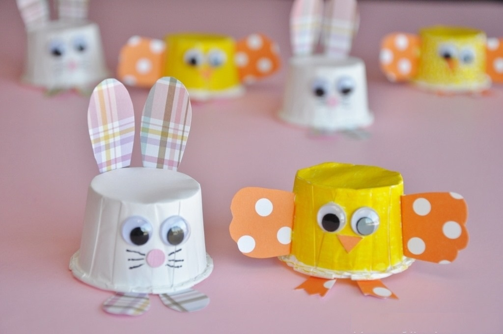 ChickBunnyMiniPartyCupCraftFinal